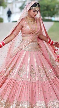 Wedding Lehenga Designs, Indian Wedding Lehenga, Designer Bridal Lehenga, Bridal Lehenga Choli, Lehenga Gown, Indian Bridal Outfits, Indian Bridal Fashion, Indian Bridal Wear, Indian Designer Outfits