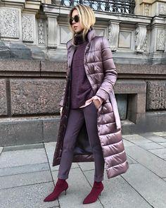 70 Ideas Fashion Womens Winter Jackets For 2019 Look Fashion, Winter Fashion, Fashion Outfits, Womens Fashion, Fashion Trends, Look Street Style, Street Chic, Langer Mantel, Winter Jackets Women