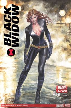 Black Widow #1 (Manara Variant Edition)
