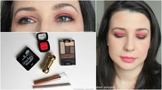 Makeup  How to wear Red Eyeshadow and totally Rock it [Monday Shadow Challenge]    (Défilez vers le bas pour le français)  Hellooo sweeties! I'm BACK! I'm so happy to be writing this post for theMonday Shadow Challengeand to be able again to read my blogger pals and interact with you on social media. The prompt for today's look is RED. This has been on trend since last Fall and almost every brand has put out there a red-ish shade. One risky colour if you ask me that can look either sublime…