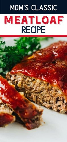 meatloaf recipes The best meatloaf recipe ever! This old fashioned meatloaf recipe is tender and juicy with a sweet ketchup glaze. Moms Classic Meatloaf Recipe is what Sunday dinner dreams are made of! Save this easy food to make for dinner! Mom's Meatloaf Recipe, Homemade Meatloaf, Healthy Meatloaf, Classic Meatloaf Recipe, Best Meatloaf, Old Fashion Meatloaf Recipe, Best Old Fashioned Meatloaf Recipe, Meat Loaf Recipe Easy, Quick Easy Meatloaf Recipe