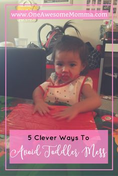 Love to do arts and crafts with your toddler but hate the mess? Check out these 5 clever ways to avoid them while still encouraging creativity.