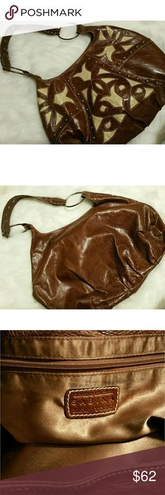 SALE!!  Sabina New York Large Leather Handbag Excellent pre-owned condition!  This bag is stunning! Sabina Bags Shoulder Bags
