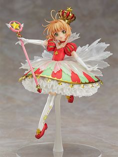 Pre-Order Release Date: July 2017 A figure of Sakura based on an original illustration by CLAMP! A collaboration project between Good Smile Company as a part of our 15th anniversary and 'Cardcaptor Sa