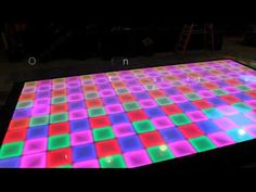 Our LED Dancefloor.. Give life and energy to your next #event ! www.dancejock.com