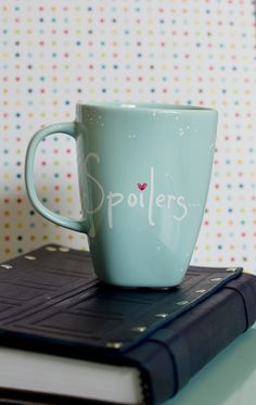 Hey, I found this really awesome Etsy listing at https://www.etsy.com/listing/177430829/spoilers-doctor-who-mug