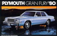 1980 Plymouth Gran Fury 4-Door Sedan