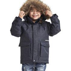 Didriksons Kure Kids Parka Jacket | Dark Denim – Sportbaby
