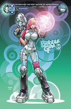 BubbleGun special reserved edition cover! Be sure to reserve a copy of BubbleGun to your pullbox to get this variant collectable cover!