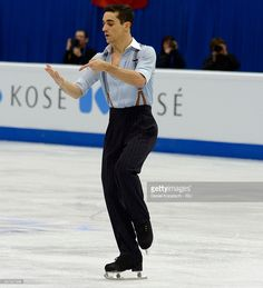 Javier Fernandez of Spain performs during the Men Free Skating on day two during the ISU European Figure Skating Championships 2016 on January 28, 2016 in Bratislava, Slovakia.