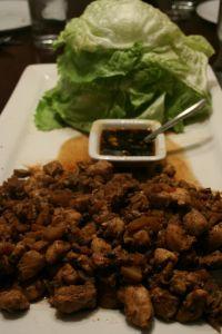 PF Changs-Style Chicken Lettuce Wraps «