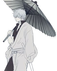 "--Sakata Gintoki in ""Gintama""-- Manga Anime, All Anime, Anime Guys, Anime Art, 3 Month Old Baby Pictures, Naruto, Okikagu, Drawing Reference Poses, Cute Illustration"