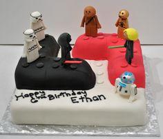 Whoa amazing Lego birthday cake- aridai 6 birthday