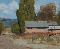 """A Corner of San Luis  Pastel   11 x 14"""""""