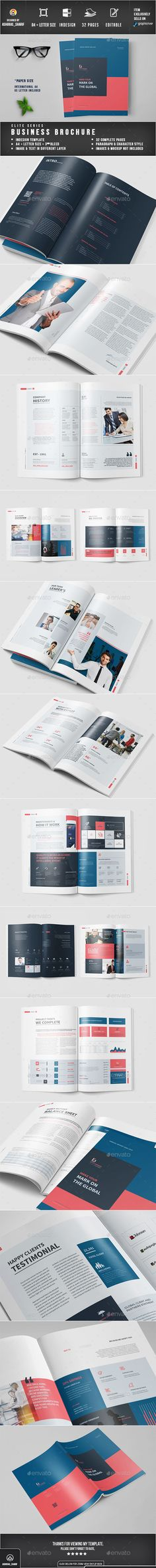 Brochure Corporate brochure, Annual reports and Brochures - business annual report template