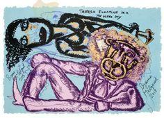 Bjarne Melgaard - u. Institute Of Contemporary Art, National Academy, Self Destruction, London Art, Outsider Art, Artist At Work, Fine Art, Painting, Image
