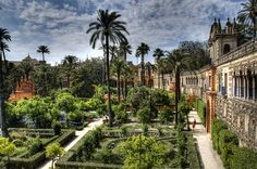 jardin de las damas, sevilla