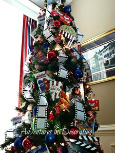 Movie theme Christmas Tree