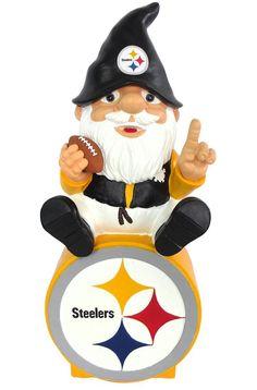 Pittsburgh Steelers Garden Gnome - On Team Logo