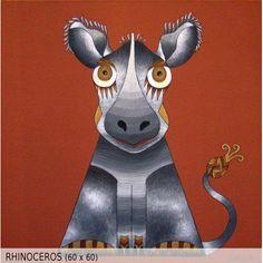 Rhinoceros (60x60)