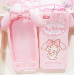 Sanrio My Medody pink phone case