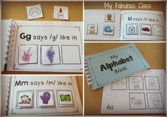 Interactive Alphabet Book. Perfect for teaching Beginning Sounds and RTI. Adapted book for Autism/Special Education. Great for a work station.