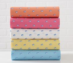 The Printed Cotton Sheet Set by Southern Tide