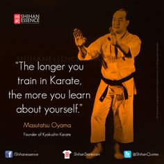 Sosai Masutatsu #Oyama #Kyokushin #Karate. Your daily source of Martial Inspiration: http://shihanessence.com