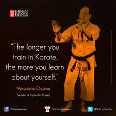 Sosai Masutatsu #Oyama #Kyokushin #Karate. Your daily source of Martial Inspiration: http://shihanessence.com