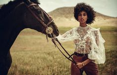 Vogue Spain July 2017 Imaan Hammam photographed by Boo George | fashion editorial fashion photography