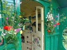 Gypsy Caravan at Alde Garden, Suffolk Gypsy Caravan Interiors, Caravan Decor, Caravan Living, Gypsy Living, Gypsy Decor, Bohemian Decor, Beautiful Space, Beautiful Homes, Gypsy Witch