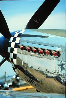 P-51 Mustang. lethal power and beauty