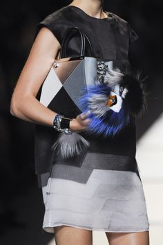 Fendi at Milan Spring 2014 (Details)