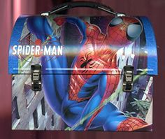 2003 Marvel Spider-Man The Tin Box Company Lunch Workman SpiderMan @ niftywarehouse.com #NiftyWarehouse #Spiderman #Marvel #ComicBooks #TheAvengers #Avengers #Comics