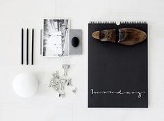 "calendar ""happydays"" from the talented swedish calligrapher Ylva Skarp. | giveaway by AMM blog, via Flickr"