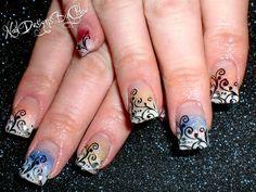 Swirly Colours by ChloeWilson - Nail Art Gallery nailartgallery.nailsmag.com by Nails Magazine www.nailsmag.com #nailart