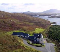 On the island of North Uist in the Outer Hebrides The Langass Lodge is set on the edge of Loch Eport and overlooking Ben Eaval. Langass Lodge is a comfortable and beautifully updated small hotel (12 suites). Their restaurant has a reputation as one of the best in the Hebrides.