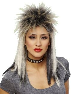 woman mullet perm - Google Search