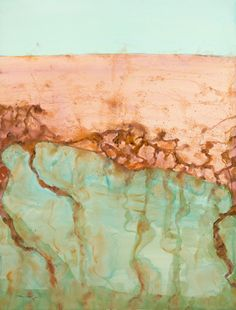 © John Olsen ~ Lake Eyre - The Desert Sea II ~ limited edition fine art reproduction at Tim Olsen Gallery Sydney Australia Abstract Landscape, Landscape Paintings, Landscape Design, Abstract Painters, Painting Abstract, Australian Painting, Australian Artists, Olsen, Graphic