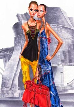 Fashion illustrations: Arturo elena