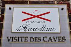 Our visit to Chamagne de Castellane in Epernay, France.