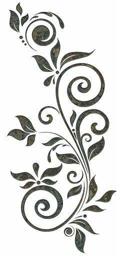 Pin Von Natacha Brito Auf Formas Blumenschablone Blumen Schablone Schablone Designs