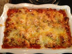 These are a few of my favorite things.: Healthy Recipes: Bubble Up Enchiladas
