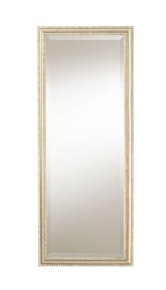 Ass I See It - Add drama and light to any space with this expressive vertical mirror. Its carved wooden frame adds substance and sophistication and is highlighted with a Soft Silver Leaf finish. A 1-inch bevel imparts impressive finishing to the glamorous accent piece.