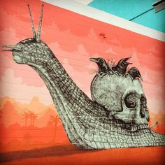 Street art | Mural (Las Vegas, USA) by La Pandilla [aka Alexis Diaz and Juan Fernandez]