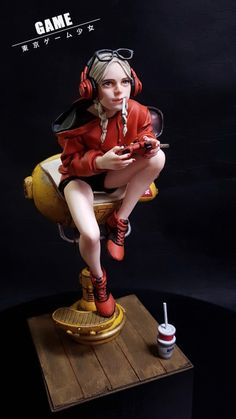 [Game 게이밍걸] #완료 : 네이버 블로그 3d Model Character, Game Character Design, Character Modeling, Character Concept, Character Art, 3d Figures, Anime Figures, Action Figures, Wallpaper Animes
