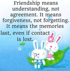 Friendship quote via www.IamPoopsie.com
