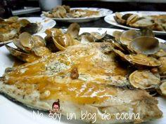 No soy un blog de cocina: LUBINA EN SALSA DE ALMEJAS ༺✿ƬⱤღ  http://www.pinterest.com/teretegui/✿༻