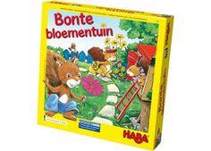 kleurig verzamelspel 'bonte bloementuin' Haba | kinderen-shop Kleine Zebra