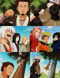 Team 7 parallels! #naruto
